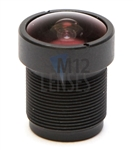 2.1mm, F2.0, 3MP M12 Mount CCTV Lens