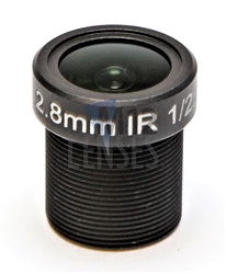 2.8mm, F1.8, 3MP M12 Mount CCTV Lens