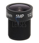 3.6mm, F1.8, 5MP M12 Mount CCTV Lens