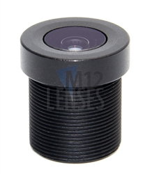 2.8mm, F2.0 1.3 MP CCTV Board Lens with IR Filter