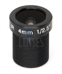 4.0mm, F1.6 3 MP CCTV Board Lens
