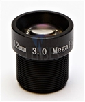 12.0mm, F1.8, 3MP M12 Mount CCTV Lens