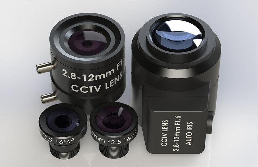 Affordable High Quality Resolution M12 Mount CCTV Board CS Lenses Holder